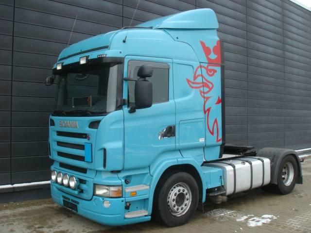 Scania R400 Highline TOPZUSTAND !!! Euro5 Retarder Klima Luftfeder ZV Standhzg - 2009