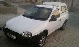 opel corsa bakkie 1.4i very good runner