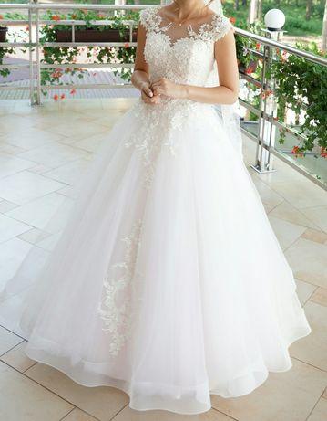 Весільне плаття  7 000 грн. - Весільні сукні Новояворівськ на Olx fd98c2636eff2
