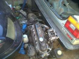 3Y or 4Y Toyota Engine And Gearbox Use In Van or Car