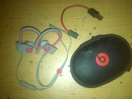 New Beats Power Beats 2 Wireless with Case & Charger for sale