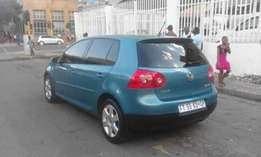 2006 Vw golf 5 blue in color 2.0 FSI available for sale