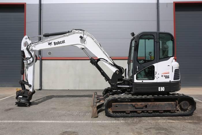 Bobcat E80 - 2010