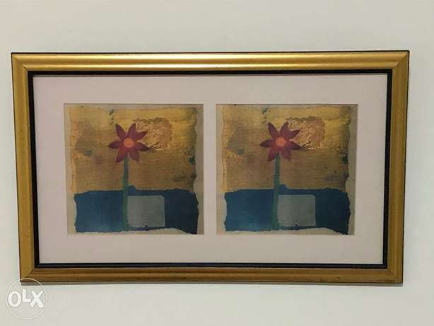 Wall frame and painting for sale