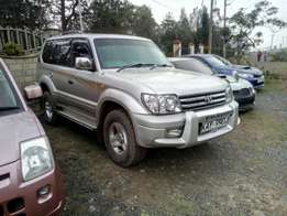 Toyota Prado Tx diesel 2002 model in immaculate condition