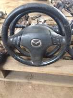 Mazda 6 steering wheels with airbags for sal