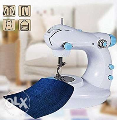 Mini Electric Double Stitch Sewing Machine