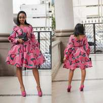 elegant kitenge dress