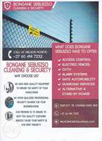 Bongane Sebusiso Cleaning and Security