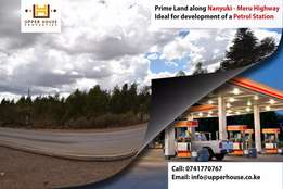 Commercial 4.5 Acre Land along Nanyuki - Meru Highway