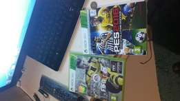 Fifa 17 and PES 16 still in mint condition