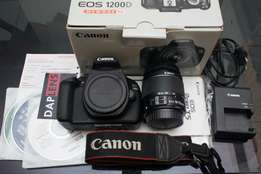 Brand New Canon EOS 1200d with all accessories