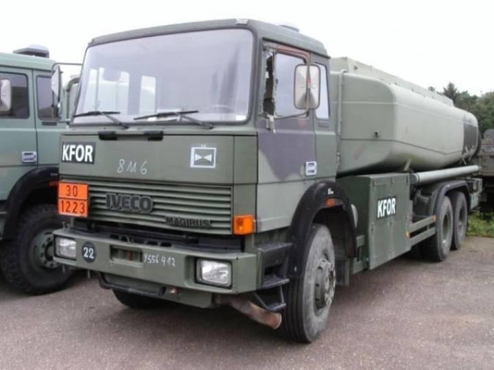 Magirus-Deutz 320 D 26 FT 18.000L tankwagen