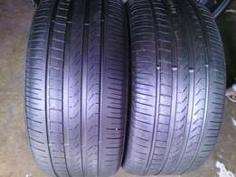 285/45/R19 Runflat on special for sale