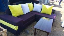 Josiaya furniture. Five seater sofa (l shaped)