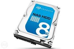 Seagate 8Tb 3.5 Nas Hdd 128Mb Cache