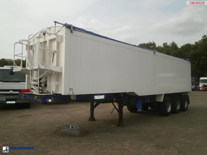 SDC Tipper trailer 49.5 m3 + tarpaulin - 2002