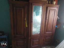Used Wardrobe with mirror for sale