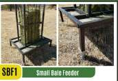 Smallbale Feeders / Baalvoerders