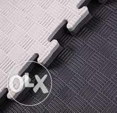 Black/Grey Floor Mat 2.5cm Thickness
