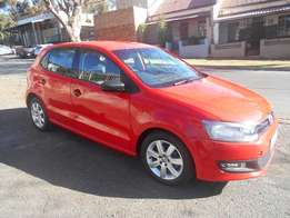 Polo 6 1.4 2012 model Red in color 62000km R108000