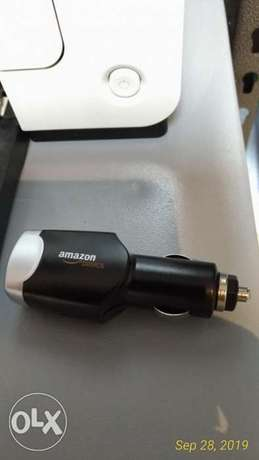 Original AmazonBasics phone car charger dual output 4A NEW