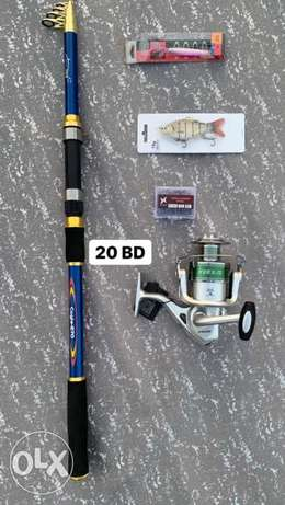 cagle rod fishing set with 6k reel 20 bd brand new