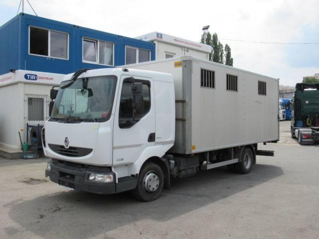 Renault MIDLUM D 220DXi, FOR TRANSPORT ANIMALS - 2013