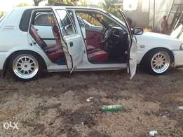 Toyota Tazz for sale 1.6I
