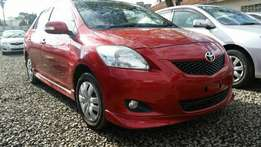 Extremely clean Wine red Toyota belta 1300cc engine capacity,buy on HP