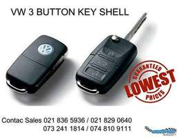 We specialist in VW KEYS 3 button now in stock limited