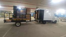 BIG van for hire with 3m TRAILER long distance ASWELL