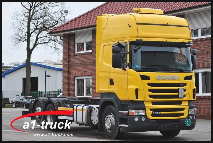 Scania R 420 LB 6x2 MNB, BDF, EEV, Retarder, - 2012