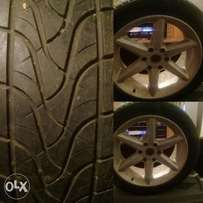 Rims with tyres for sale