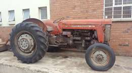 massey furguson 65 and Implements