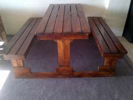4 Seater Combo R699.00 - 6 Seater Combo R850.00 - Medium Bench R499.00
