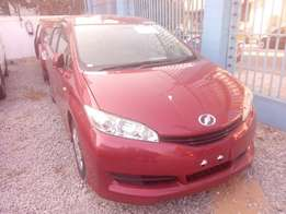 Toyota wish red wine