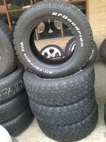 BF Goodrich tyres 18'' are selling at Magntyre for 1500 each, so Hurry