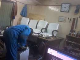 Office seats professional repairs and refurbishes