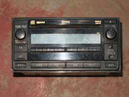 Toyota did radio/CD player