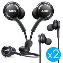 2 Samsung Galaxy s8 plus Original EO-IG955 Earbuds Noise Cancelling
