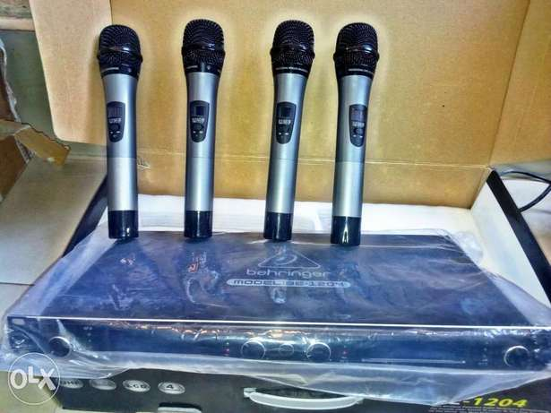 Quality BEHRINGER 4in1digital wireless mic Lagos Mainland - image 3