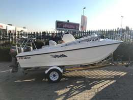 2006 Z-Craft 16 ft cat with 2 x Yamaha 50 HP 2stroke engines