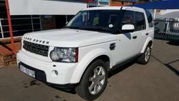 2010 Land Rover Discovery 4 TDV6 SE.