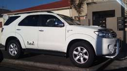 Fortuner 4x4 Auto 3l diesel for sale