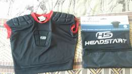 Headstart prorective rugby gear