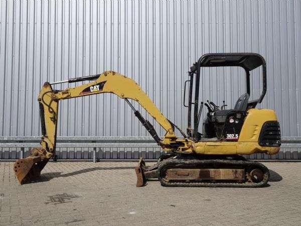 Caterpillar 302.5 Minigraver, Minibagger, Mini excavator incl 3 bakke... - 2005 - image 2