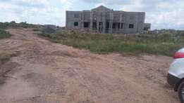 Bring a Car For a Plot of Land For Sale at East Legon Hills Areas