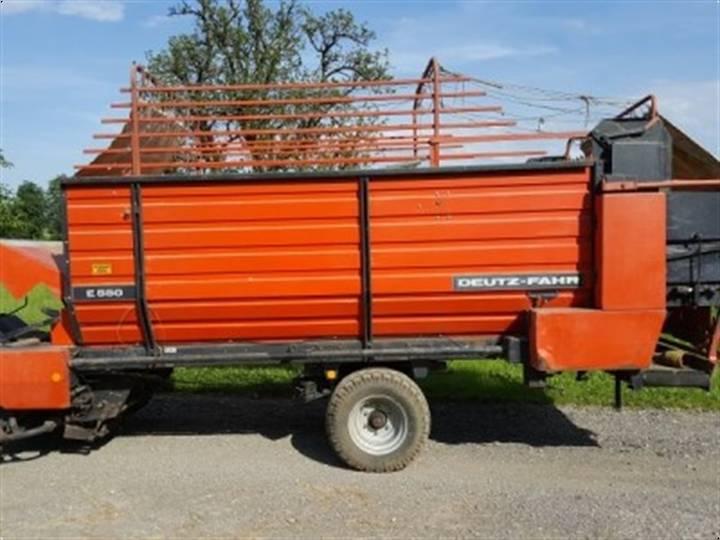 Deutz -FAHR E 550 - 1984