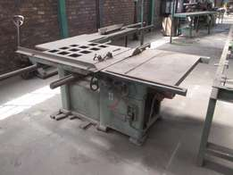 Panelsaw, Squaring Table Tilting Arbour Panel Saw, WADKIN, BGP1200